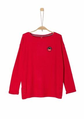 S'Oliver Girls' 66.909.31.8865 Longsleeve T - Shirt