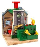 Thomas & Friends Fisher-Price Wooden Railway Steamworks Lift & Repair