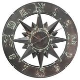 Infinity Instruments Compass Clock - Copper