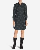 Eddie Bauer Women's Stine's Favorite Flannel Shirt Dress