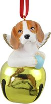 StealStreet SS-D-BL004-B Cute Christmas Holiday Beagle Dog Ornament Bell Figurine
