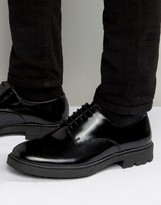 Religion Leather Derby Shoes