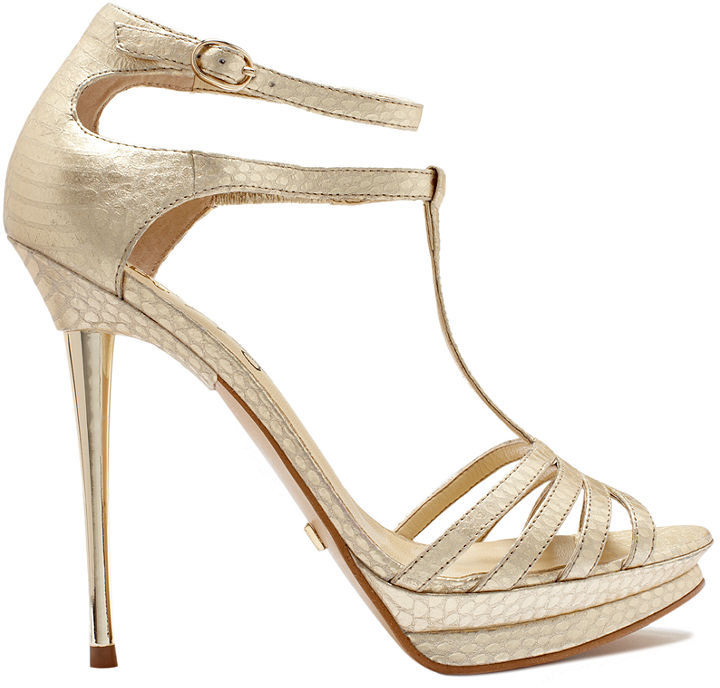 ABS by Allen Schwartz Zxen Platform Evening Sandals