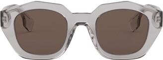 Burberry Eyewear Geometric Frame Sunglasses