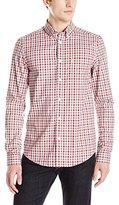 Ben Sherman Men's Long Sleeve House Gingham Button Down Shirt