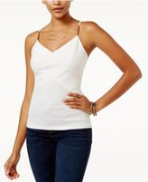 Lily Black Juniors' Embellished Tank Top, Only at Macy's