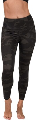 90 Degree By Reflex Lux Camo Full Length Leggings