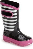 Bogs Stripe Waterproof Rain Boot (Walker, Toddler, Little Kid & Big Kid)