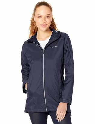 Columbia Womens Switchback Lined Long Rain Jacket Waterproof