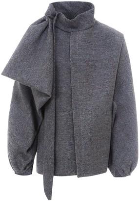 Maison Margiela Pussybow Detailed Jacket