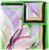 Emilio Pucci floral print scarf - women - Silk - One Size