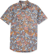Billabong Men's Vacay Geo-Print Cotton Shirt