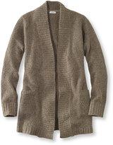 L.L. Bean Cozy Boucl Sweater, Open Cardigan