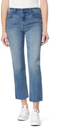 Kensie High Rise Slim Fit Straight Leg Jeans