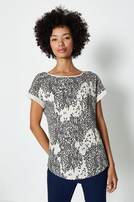 Coast Cotton Slub Printed T-Shirt