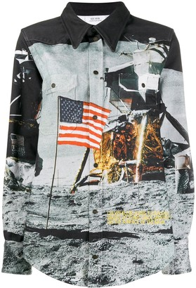 Calvin Klein Jeans Est. 1978 Moon Flag jacket