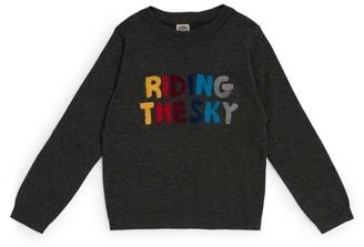 Bonton Riding The Sky Sweater (4-12 Years)