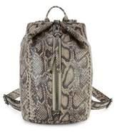 Aimee Kestenberg Tamitha Snake-Patterned Leather Backpack