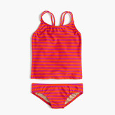 J.Crew Girls' tankini set in sailor stripe
