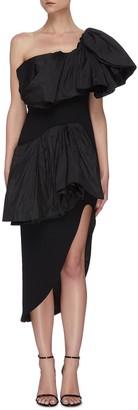 Maticevski Attentive' ruffle dress