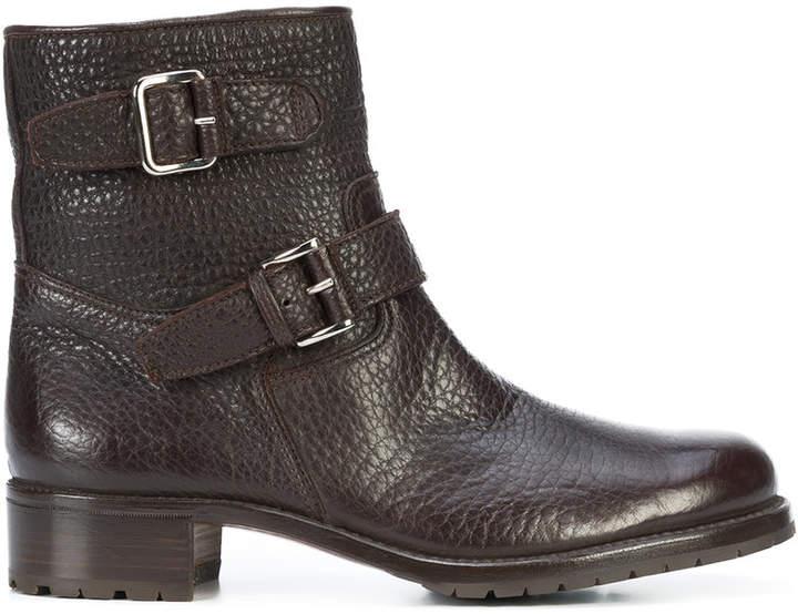 Gravati buckled boots