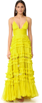 Maria Lucia Hohan Dalila Sleeveless Maxi Dress
