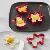 Williams-Sonoma Williams Sonoma Holiday Silicone Egg Fry Rings, Set of 4