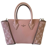 Louis Vuitton Tote w leather crossbody bag