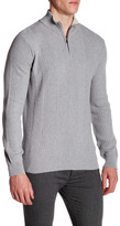 Calvin Klein Ribbed Knit 1/4 Zip Sweater