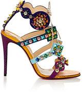Christian Louboutin Women's Kaleikita Suede & Leather Sandals