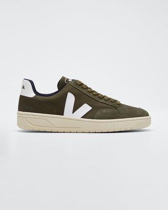 Veja V12 Knit Flat Sneakers