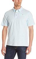 English Laundry Men's Short Sleeve Organic Cotton Polo