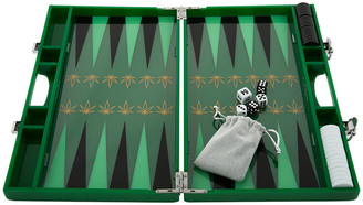 casacarta - Lacquered Backgammon Set - Leaf