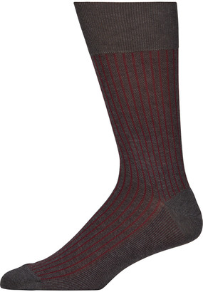 Falke Men's Oxford Stripe Socks