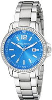 Tommy Bahama RELAX Women's 10018373 Island Breeze Analog Display Japanese Quartz Silver Watch