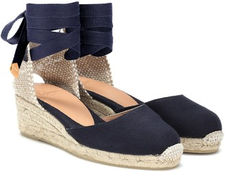 Castaã±Er Carina low wedge espadrilles