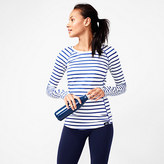 New Balance for J.Crew in-transit long-sleeve T-shirt in stripe