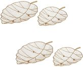 Amalfi by Rangoni Gold Leaves Basket (Set of 4)