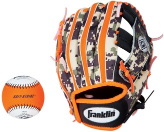 Franklin Sports Franklin Performance Series 9.5-in. Right Hand Throw T-Ball Glove & Ball Combo - Youth