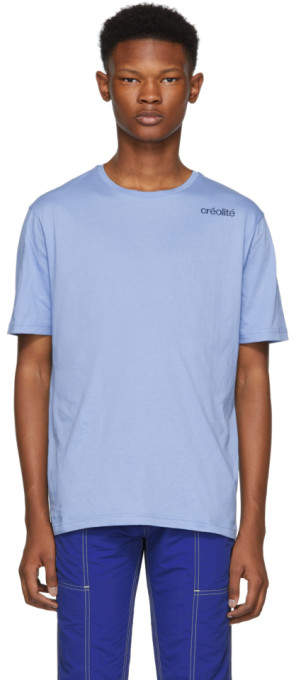 Wales Bonner Blue Creolite T-Shirt