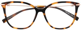 Max Mara MM1414 tortoiseshell glasses