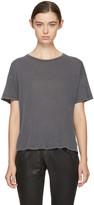 R 13 Black Classic Oversized T-shirt