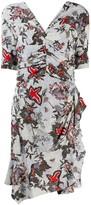 Isabel Marant asymmetric floral-print dress