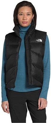 The North Face Palomar Down Vest (TNF Black) Women's Clothing