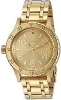 Nixon Women's 38-20 All Quartz Stainless Steel Watch (Model: A410-502-00)