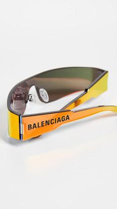 Balenciaga Mono Futuristic Sunglasses