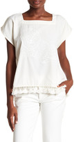 Corey Lynn Calter Tina Embroidered Blouse