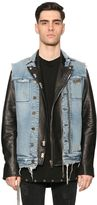 RtA Denim Vest & Leather Biker Jacket