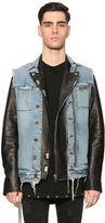 RtA Denim Vest & Leather Biker Jacket
