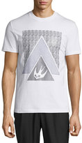 McQ by Alexander McQueen Triangle Logo Graphic Short-Sleeve T-Shirt